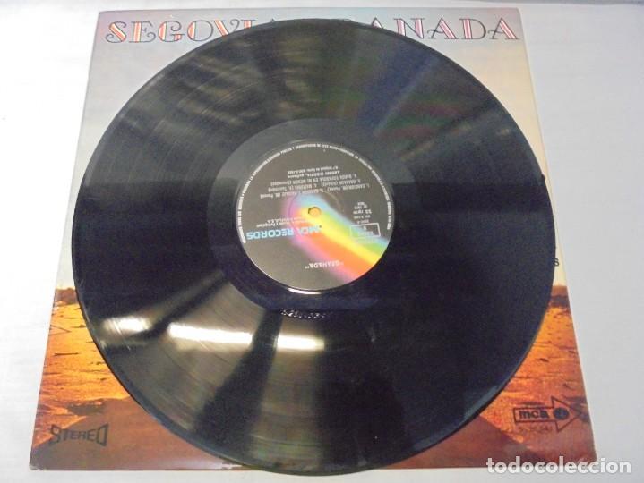 Discos de vinilo: SEGOVIA GRANADA. LECCIONES PARA GUITARRA. AGUADO.SOR.PONCE.. LP VINILO. MCA RECORDS 1970 - Foto 5 - 244847580