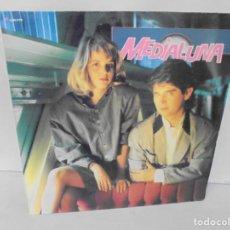Discos de vinilo: MEDIA LUNA. LP VINILO. DISCOGRAFICA ARIOLA. 1988.. Lote 244848190
