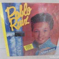 Discos de vinilo: PABLO RUIZ. OCEANO. LP VINILO. DISCOGRAFICA EMI ODEON 1989.. Lote 244848505