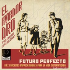 Discos de vinilo: AVIADOR DRO * LP VINILO 180G + CD * FUTURO PERFECTO * GATEFOLD * PRECINTADO!!. Lote 244850745