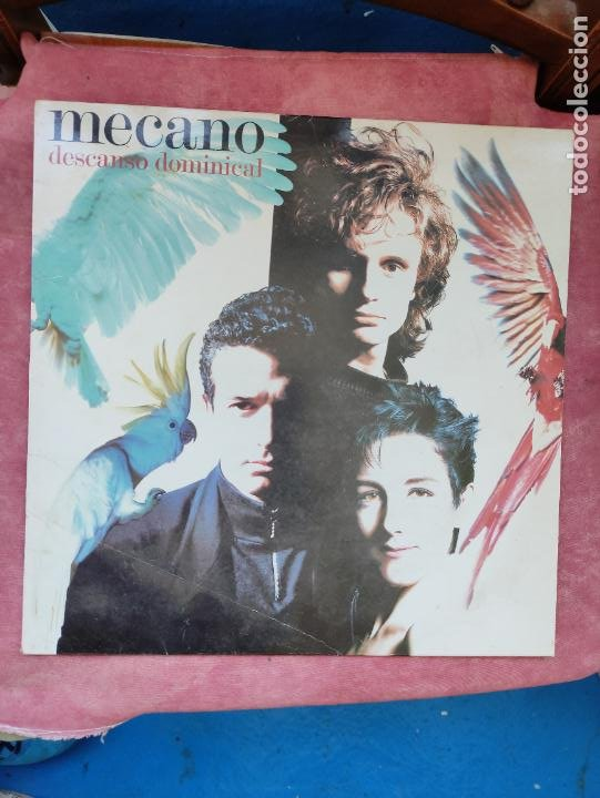 MECANO (DESCANSO DOMINICAL) ARIOLA, 1988 ¡LP ORIGINAL! (Música - Discos - LP Vinilo - Grupos Españoles de los 70 y 80)