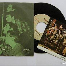 """Discos de vinilo: LOS BRINCOS 7"""" SINGLE 45RPM CRY FLAMENCO NOVOLA NO-2 RARO CONSERVA POSTAL PROMOCIONAL. Lote 244856970"""