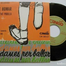"Discos de vinilo: COBLA LA SELVATANA 7"" SINGLE 45RPM SARDANES PER BALLAR 1970 RARO IMPECABLE !!. Lote 244857790"