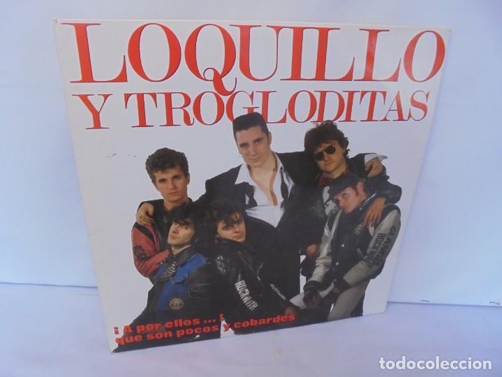 LOQUILLO Y TROGLODITAS. ¡APOR ELLOS! QUE SON POCOS Y COBARDES. 2LP VINILO. 1989 (Música - Discos - Singles Vinilo - Grupos Españoles de los 70 y 80)