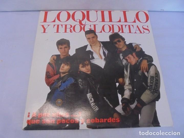 Discos de vinilo: LOQUILLO Y TROGLODITAS. ¡APOR ELLOS! QUE SON POCOS Y COBARDES. 2LP VINILO. 1989 - Foto 2 - 244864665