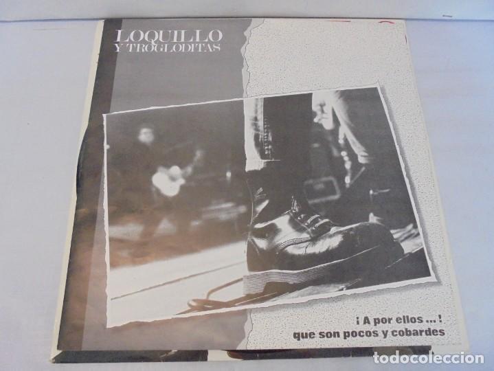Discos de vinilo: LOQUILLO Y TROGLODITAS. ¡APOR ELLOS! QUE SON POCOS Y COBARDES. 2LP VINILO. 1989 - Foto 11 - 244864665