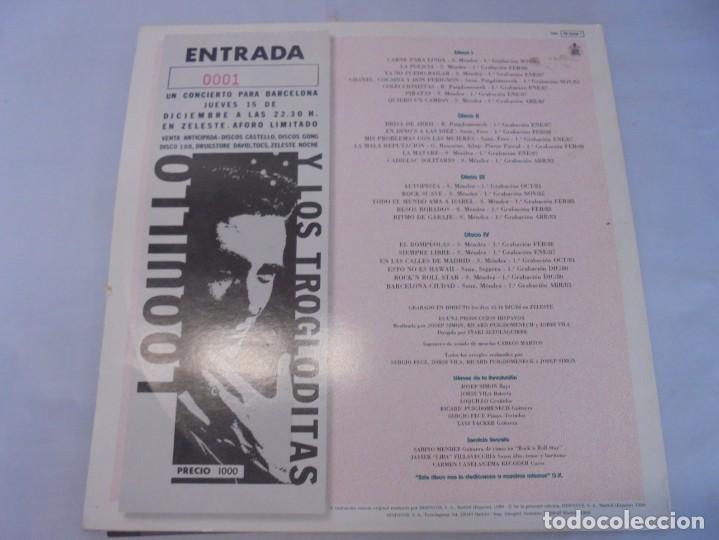 Discos de vinilo: LOQUILLO Y TROGLODITAS. ¡APOR ELLOS! QUE SON POCOS Y COBARDES. 2LP VINILO. 1989 - Foto 18 - 244864665