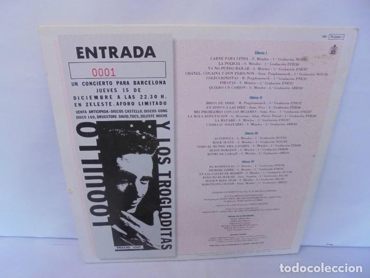 Discos de vinilo: LOQUILLO Y TROGLODITAS. ¡APOR ELLOS! QUE SON POCOS Y COBARDES. 2LP VINILO. 1989 - Foto 19 - 244864665