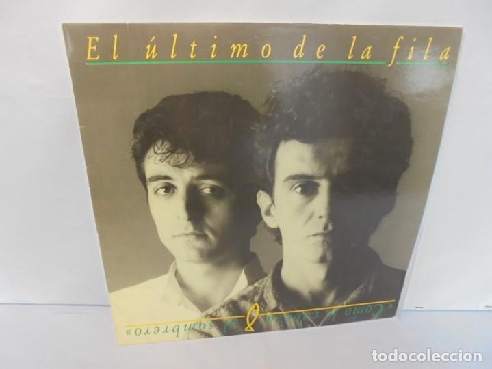 EL ULTIMO DE LA FILA. COMO LA CABEZA AL SOMBRERO. LP VINILO. PDI 1988. (Música - Discos - LP Vinilo - Grupos Españoles de los 70 y 80)