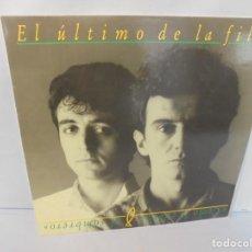Discos de vinilo: EL ULTIMO DE LA FILA. COMO LA CABEZA AL SOMBRERO. LP VINILO. PDI 1988.. Lote 244865275