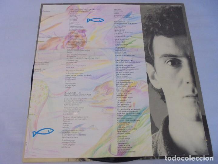 Discos de vinilo: EL ULTIMO DE LA FILA. COMO LA CABEZA AL SOMBRERO. LP VINILO. PDI 1988. - Foto 8 - 244865275