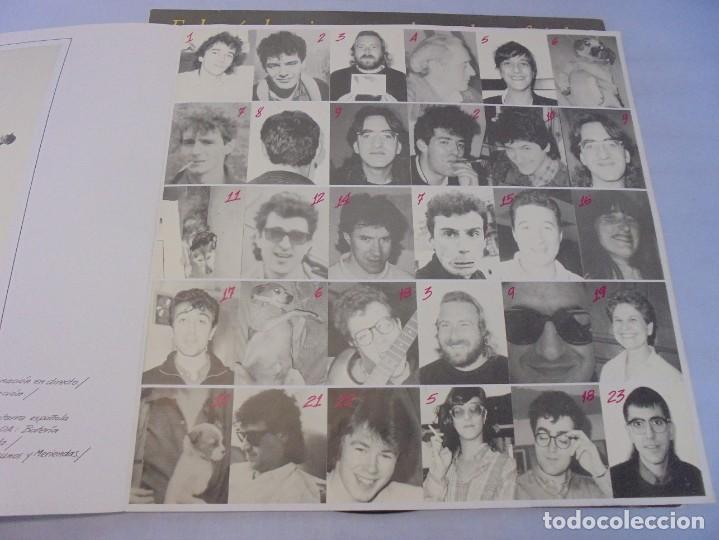 Discos de vinilo: EL ULTIMO DE LA FILA. COMO LA CABEZA AL SOMBRERO. LP VINILO. PDI 1988. - Foto 9 - 244865275