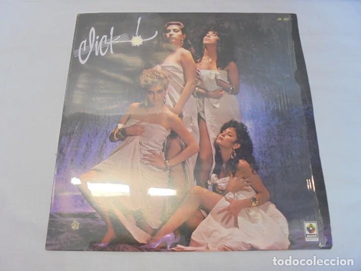 Discos de vinilo: CLICK. LP VINILO. DISCOGRAFICA DISCOS MUSART 1987. - Foto 2 - 244868910