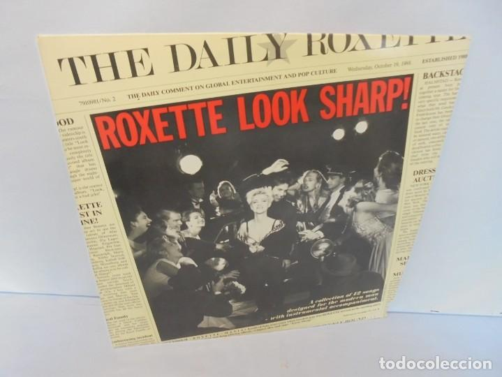ROXETTE LOOK SHARP!. LP VINILO. DISCOGRAFICA HISPAVOX 1989. (Música - Discos - LP Vinilo - Pop - Rock - New Wave Internacional de los 80)