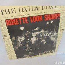 Discos de vinilo: ROXETTE LOOK SHARP!. LP VINILO. DISCOGRAFICA HISPAVOX 1989.. Lote 244869780