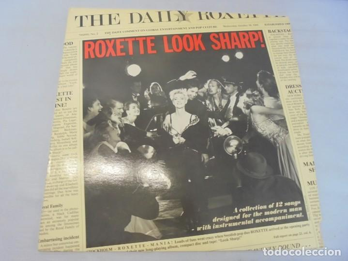 Discos de vinilo: ROXETTE LOOK SHARP!. LP VINILO. DISCOGRAFICA HISPAVOX 1989. - Foto 2 - 244869780