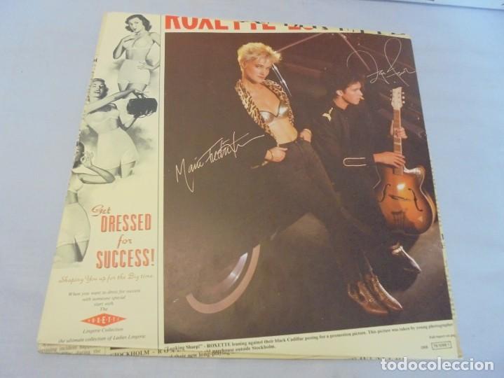 Discos de vinilo: ROXETTE LOOK SHARP!. LP VINILO. DISCOGRAFICA HISPAVOX 1989. - Foto 3 - 244869780