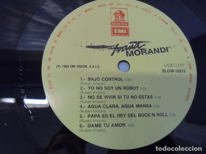 Discos de vinilo: IVANA MORANDI. LP VINILO. DISCOGRAFICA EMI ODEON. 1989. - Foto 6 - 244870745