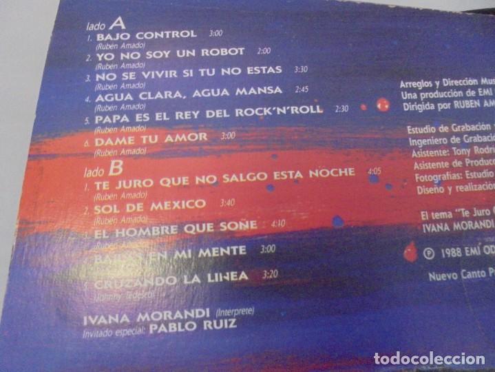 Discos de vinilo: IVANA MORANDI. LP VINILO. DISCOGRAFICA EMI ODEON. 1989. - Foto 7 - 244870745