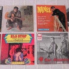Discos de vinilo: LOTE DE 7 SINGLES Y EPS CANTADOS EN CATALÀ DUO DINAMICO MANEL SERRAT TONY DALLARA ALGUNOS RAROS!!. Lote 244871235