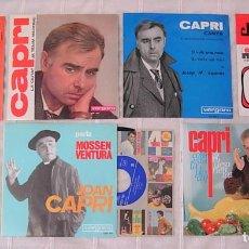 Discos de vinilo: LOTE DE 7 SINGLES JOAN CAPRI 1962-1970 LA MAYORÍA IMPECABLES !!. Lote 244875040