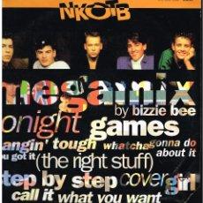 "Discos de vinilo: NEW KIDS ON THE BLOCK - NEW KIDS 12"" MEGAMIX - MAXI SINGLE 1991 - ED ESPAÑA. Lote 244876370"