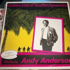 """Discos de vinilo: ANDY ANDERSON* - GOLDEN HITS OF SOULFUL DYNAMICS (12"""", MAXI, MIXED) SELLO:SPLASH RECORDS. VG+ / VG+. Lote 244877295"""