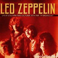 Discos de vinilo: LED ZEPPELIN: LIVE AT L'OLYMPIA PARIS 1969 2X LP - VINILO NUEVO PRECINTADO. Lote 244878205