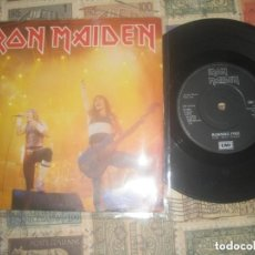 Discos de vinilo: IRON MAIDEN. SINGLE. RUNNING FREE (EMI -1985) ORIGINAL ENGLAND LEA DESCRIPCION. Lote 244880880