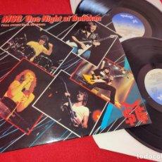 Discos de vinilo: MSG THE MICHAEL SCHENKER GROUP ONE NIGHT AT BUDOKAN UNA NOCHE EN EL 2LP 1982 CHRYSALIS ESPAÑA SPAIN. Lote 244898785
