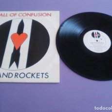 Discos de vinilo: MAXI. LOVE AND ROCKETS. LOVE AND ROCKETS (DANIEL ASH. BAUHAAUS. POST-PUNK PSICODELIA . AÑO 1985. Lote 244900900