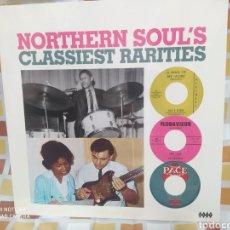 Discos de vinilo: NORTHERN SOUL'S CLASSIEST RARITIES . LP VINILO NUEVO PRECINTADO. Lote 244902605