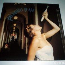 Discos de vinilo: LP HELLOWEEN - PINK BUBBLES GO APE. Lote 244911375