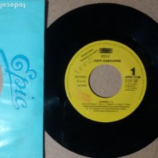 Discos de vinilo: OZZY OSBOURNE / CHANGES / SINGLE 7 PULGADAS. Lote 244911895