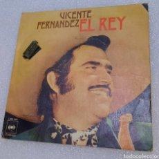 Disques de vinyle: VICENTE FERNÁNDEZ - EL REY. Lote 244912450