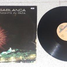 Discos de vinilo: CASABLANCA - HOT NIGHTS IN IBIZA - MAXI - SPAIN - BOY RECORDS - PLS 888 - L -. Lote 244912595