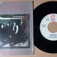 Discos de vinilo: ADRENALINA / LA LEY DE LA CALLE / SINGLE 7 PULGADAS. Lote 244917755