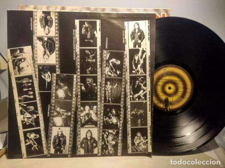 Discos de vinilo: LP IRON MAIDEN : THE NUMBER OF THE BEAST ( EL NUMERO DE LA BESTIA ) - Foto 4 - 244924735