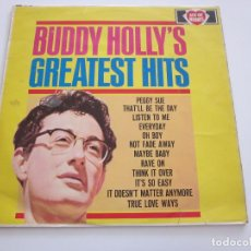 Disques de vinyle: BUDDY HOLLY - BUDDY HOLLY'S GREATEST HITS (LP, COMP). Lote 244933560