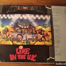 Dischi in vinile: HELLOWEEN - LIVE IN THE U.K *** RARO LP EDICIÓN ESPAÑOLA 1989!. Lote 244933980