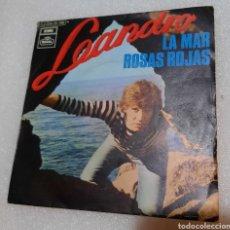 Discos de vinilo: LEANDRO - LA MAR. Lote 244937020