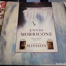 Discos de vinilo: ENNIO MORRICONE - THE MISSION (ORIGINAL SOUND TRACK FROM THE FILM)(LP, ALBUM) T-207.908.VINILO NUEVO. Lote 244949815