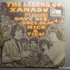 Discos de vinilo: DAVE DEE, DOZY, BEAKY, MICK & TICH - THE LEGEND OF XANADU (LA LEYENDA DE XANADU) PLEASE 1965. Lote 244953115
