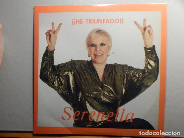SERENELLA - HE TRIUNFADO - UNA CASITA EN CANADA, CHI, CHU, CIAO BAMBINA, ARRIVEDERCI ROMA, TOMASA (Música - Discos de Vinilo - EPs - Solistas Españoles de los 50 y 60)