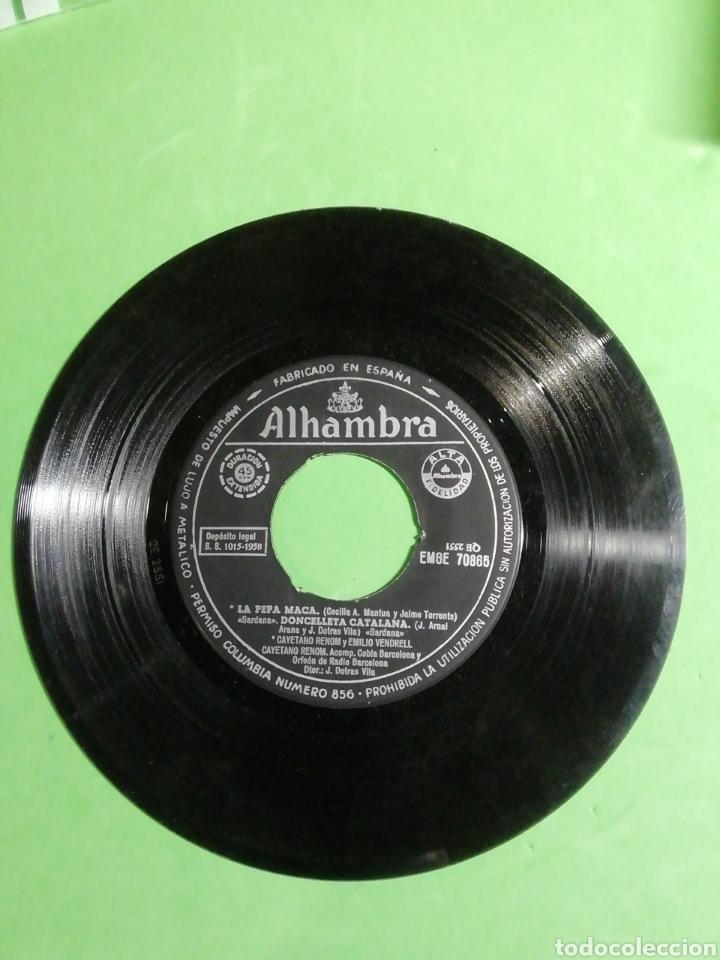 Discos de vinilo: La pepa maca. Disco microsurco duración extendida. . Velocidad 45 R. P. M - Foto 4 - 244955515
