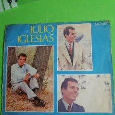 Discos de vinilo: JULIO IGLESIAS.. MIS RECUERDOS.. 45.RPM. Lote 244955645