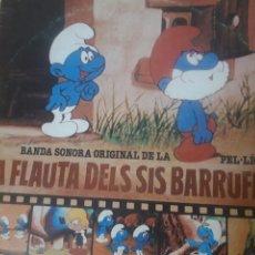 Discos de vinilo: VINILO DISCO LP DE VINILO - LA FLAUTA DELS SIS BARRUFETS - BELTER - AÑO 1983. Lote 244957135