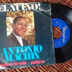 Discos de vinilo: SINGLE (VINILO) DE ANTONIO MACHIN AÑOS 60. Lote 244962215
