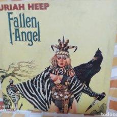 Discos de vinilo: URIAH HEEP-FALLEN ANGEL . LP VINILO EDICIÓN ORIGINAL DE 1978. BUEN ESTADO. Lote 244964115
