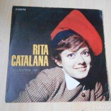 Discos de vinilo: RITA PAVONE - CATALANA -, EP, NOMES TU (SOLO TU) + 3 , AÑO 1966. Lote 244965130
